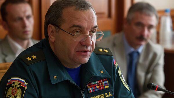 Глава МЧС провел заседание правительственной комиссии в Томске
