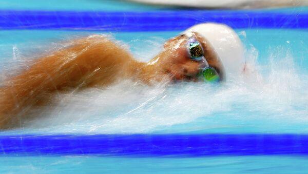Китаец Сунь Ян выиграл золото ОИ на 400-метровке кролем