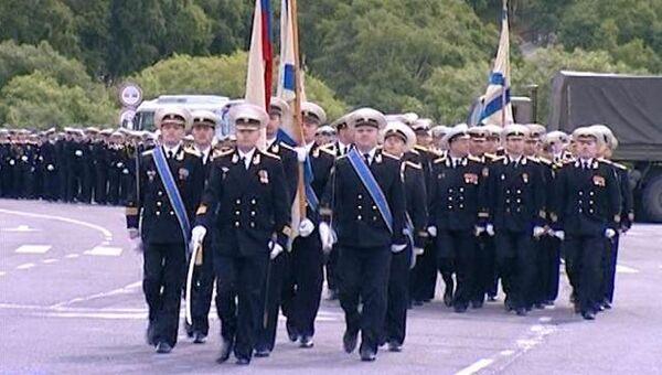 От Камчатки до Севастополя, или Как отмечают День ВМФ военные моряки