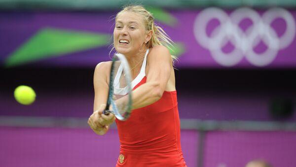 Российская теннисистка Мария Шарапова на ОИ в Лондоне