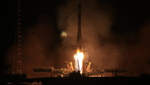 Запуск транспортного грузового корабля Прогресс М-16М к МКС