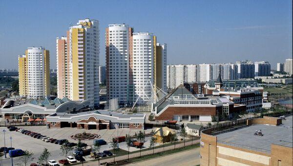 Олимпийская деревня I Всемирных юношеских игр, 1998 год. Архивное фото
