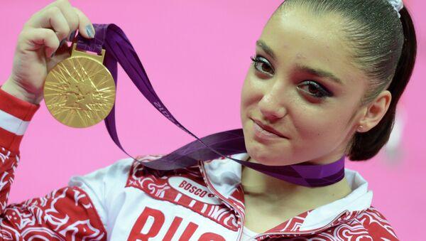 ОИ - 2012. Спортивная гимнастика. Женщины. Брусья