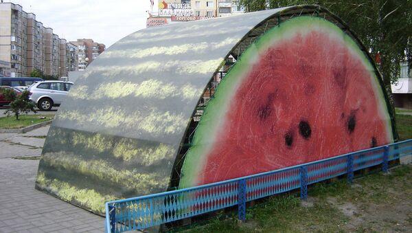 Сочные палатки: в Белгороде меняется дизайн уличных торговых мест