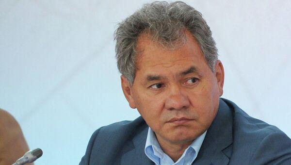 Губернатор Московской области Сергей Шойгу. Архив