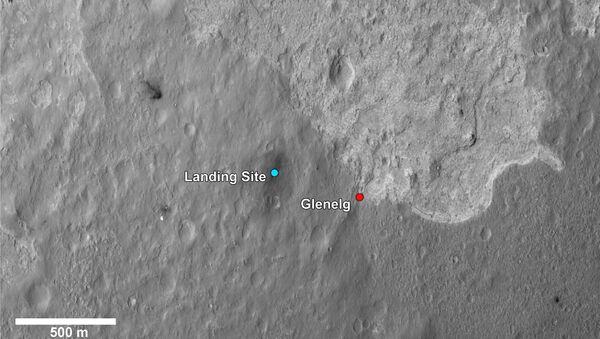 «Перекресток» Гленелг, куда марсоход Curiosity поедет в первую очередь