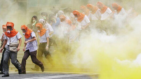 Проверка готовности к химической, биологической и радиологической атаке в Сеуле
