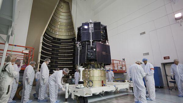 Подготовка зондов RBSP к запуску