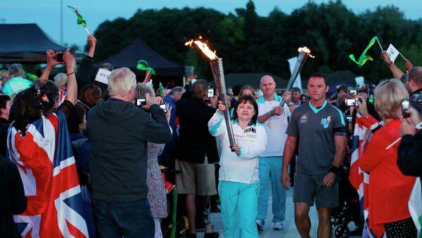 Воссоединение Паралимпийского огня