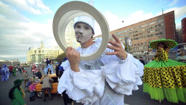 Участник карнавального шествия. Архивное фото