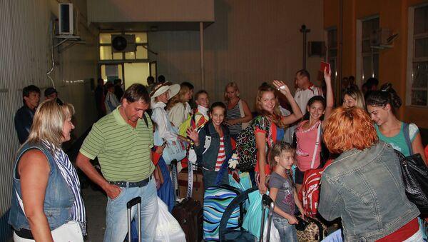 Клиенты турагенства ЧерриТур прилетевшие из Хорватии в Краснодар