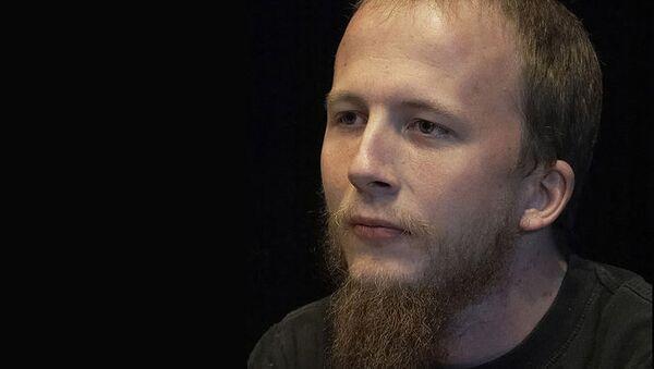 Один из основателей популярного файлообменника Pirate Bay Готтфрид Свартхольм. Архивное фото