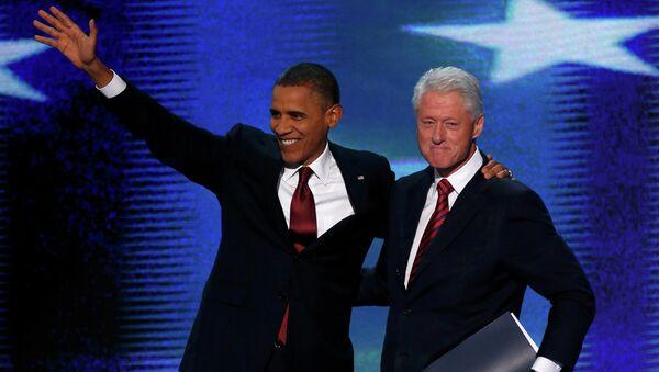 Билл Клинтон предложил кандидатуру Обамы на второй срок