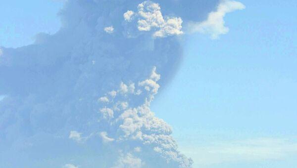 Вулкан Сан-Кристобаль в Никарагуа