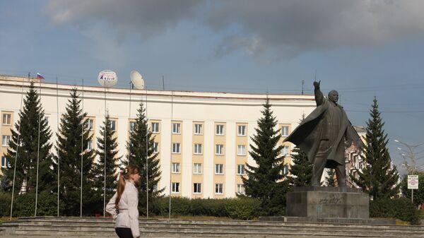 Здание городской администрации Краснотурьинска Свердловской области