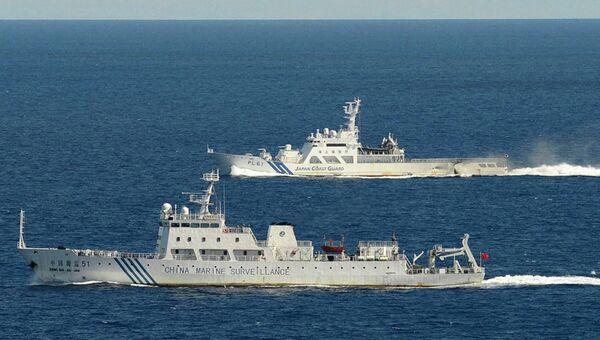 Патрульные корабли КНР. Архивное фото