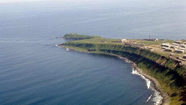Курильские острова, остров Кунашир. Архив
