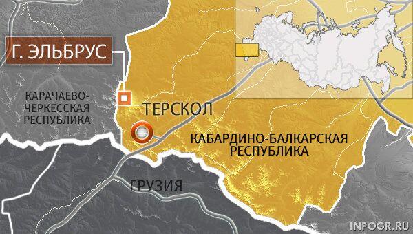 Кабардино-Балкарская Республика, поселок Терскол