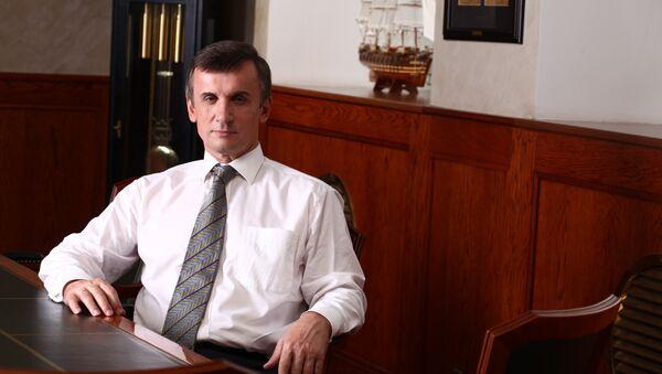 Генеральный директор ОАО Адмиралтейские верфи Александр Бузаков. Архивное фото