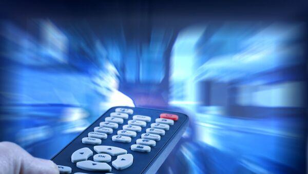 Телевидение, фото из архива