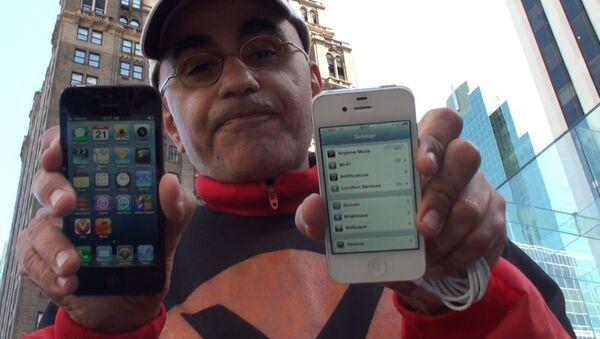 Первый покупатель iPhone 5 в США рассказал, на что пошел ради гаджета
