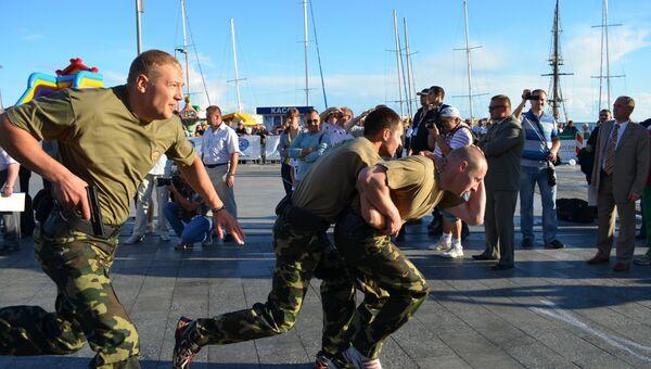 В Ялте прошли соревнования среди телохранителей
