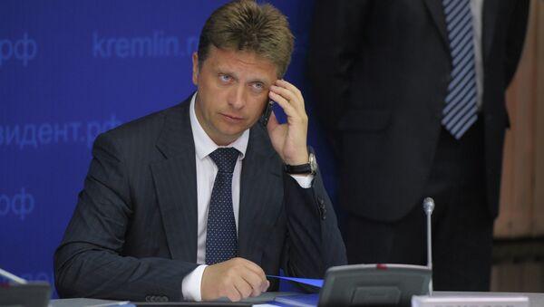 Министр транспорта РФ Максим Соколов. Архив