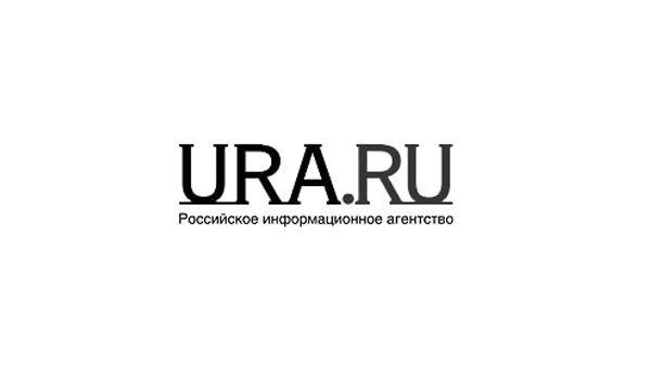 Логотип информационного агентства Ура.ру