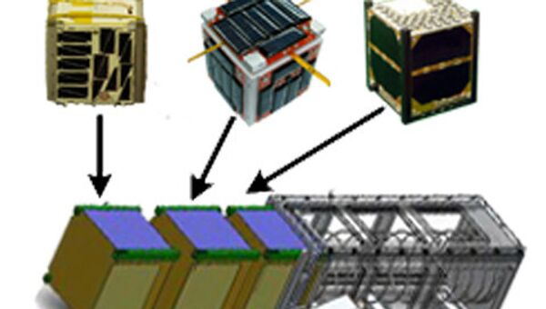 Микроспутники CubeSat и устройство для их запуска