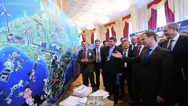Д.Медведев на форуме Ялтинские деловые встречи