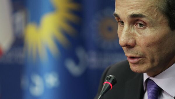 Лидер оппозиционной коалиции Грузинская мечта миллиардер Бидзина Иванишвили. Архивное фото