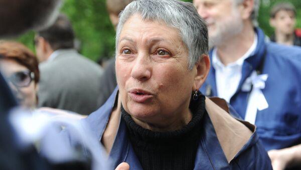Писательница Людмила Улицкая