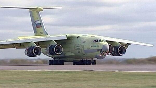 Путин проводил в первый полет модернизированный Ил-76