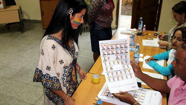 Выборы президента Венесуэлы на Кубе