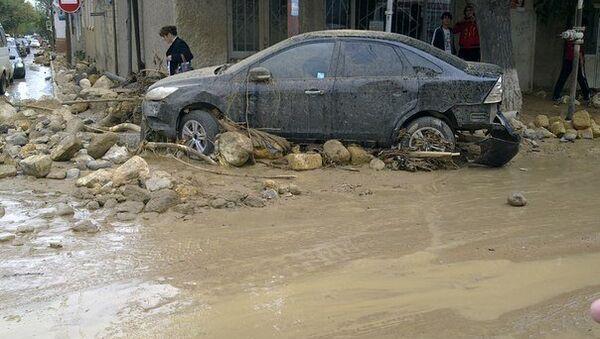 Последствия потопа в Дербенте