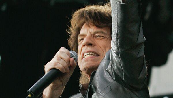 Вокалист группы «The Rolling Stones» Мик Джаггер. Архив