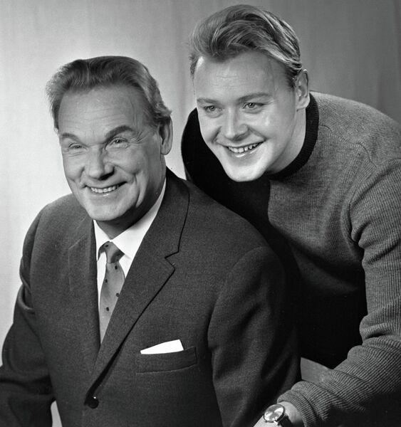 Актеры Сергей и Кирилл Столяровы