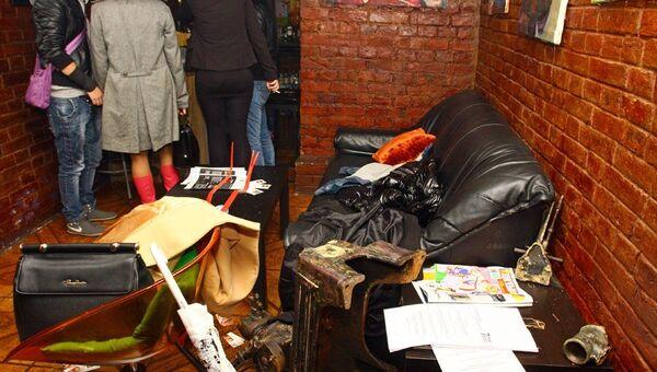 Погром в клубе 7freedays в Москве