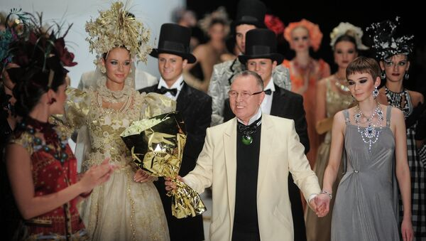 Показ Slava Zaitsev в рамках Mercedes-Benz Fashion Week Russia