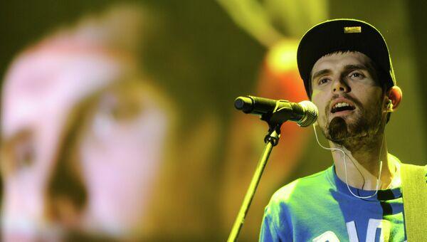 Рэпер Noize MC (Иван Алексеев). Архивное фото
