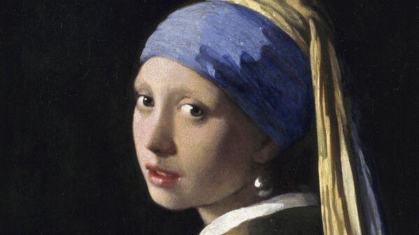 Ян Вермеер Девушка с жемчужной сережкой. 1665-1667