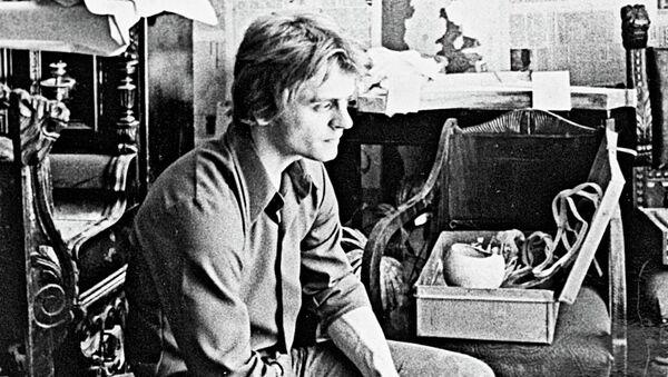 Знаменитый танцовщик и актер Михаил Барышников. Архивное фото