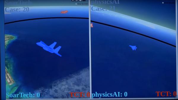 В США испытали искусственный интеллект в воздушном бою