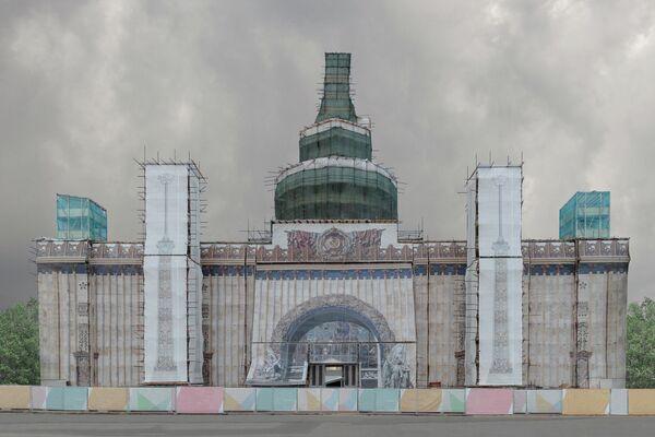 Pegova Olya. Работа финалиста конкурса The Art of Building