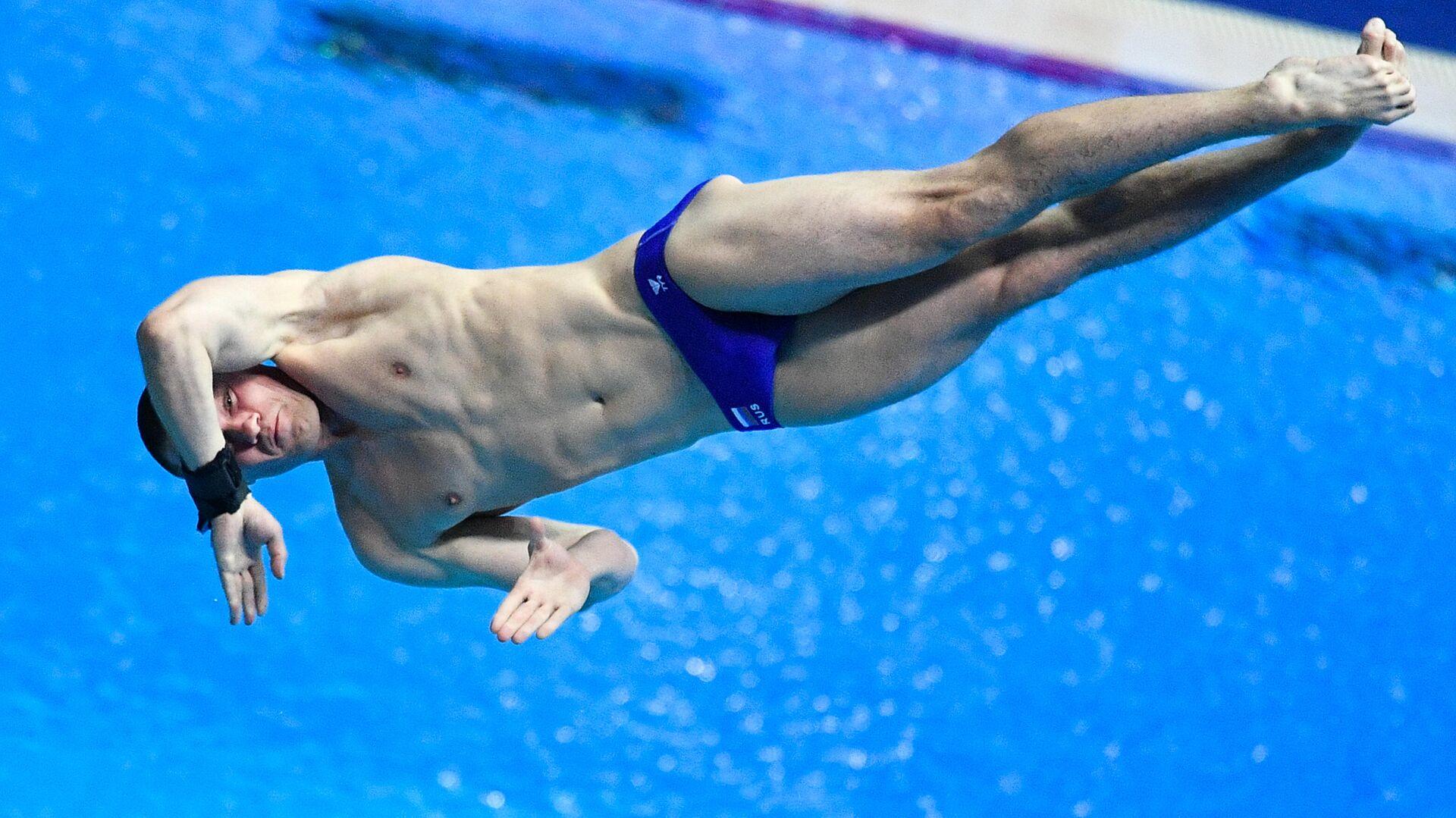 Чемпионат мира FINA 2019. Прыжки в воду. Мужчины. Трамплин 3 м - РИА Новости, 1920, 27.11.2020