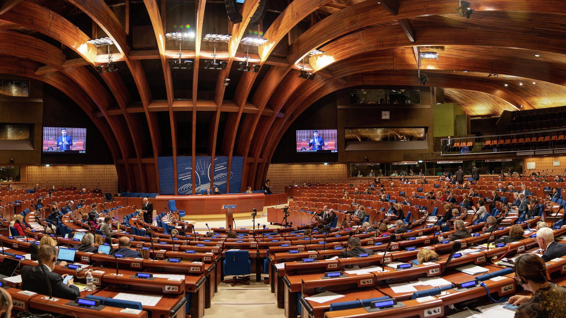 Зимняя сессия ПАСЕ в Страсбурге - РИА Новости, 1920, 25.01.2021