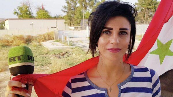 Корреспондент RT в Сирии Вафа Шабруни