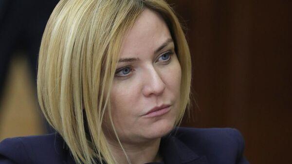 Министр культуры РФ Ольга Любимова на заседании Совета по развитию местного самоуправления