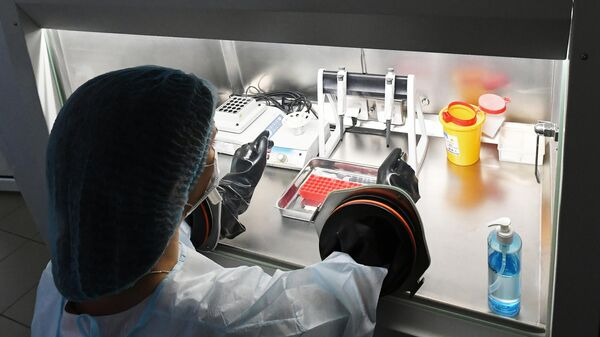 Тест-системы для диагностики нового коронавируса в Центре гигиены и эпидемиологии Красноярского края