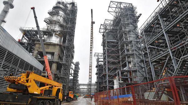 Мозырский нефтеперерабатывающий завод в Белоруссии